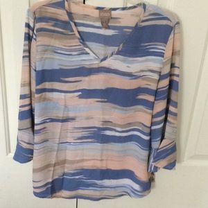 Chico's bell sleeve blouse